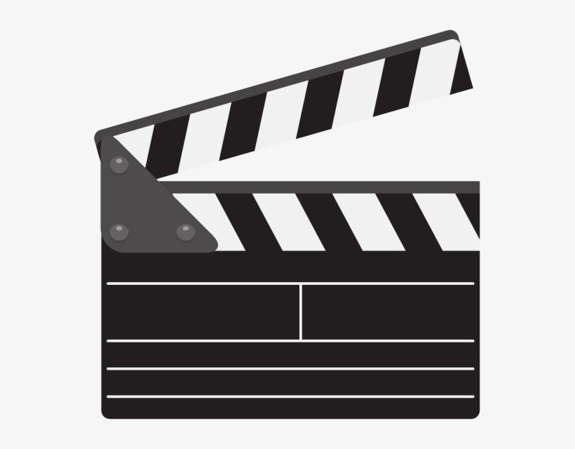 Movie Clipart Clapper Board.