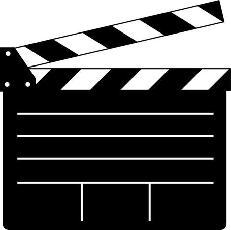Movie flap clip art vector movie flap graphics clipart me.