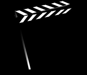 Clapper Movie Clip Art at Clker.com.
