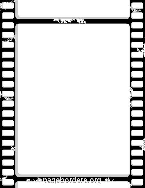 Free Film Strip Border.