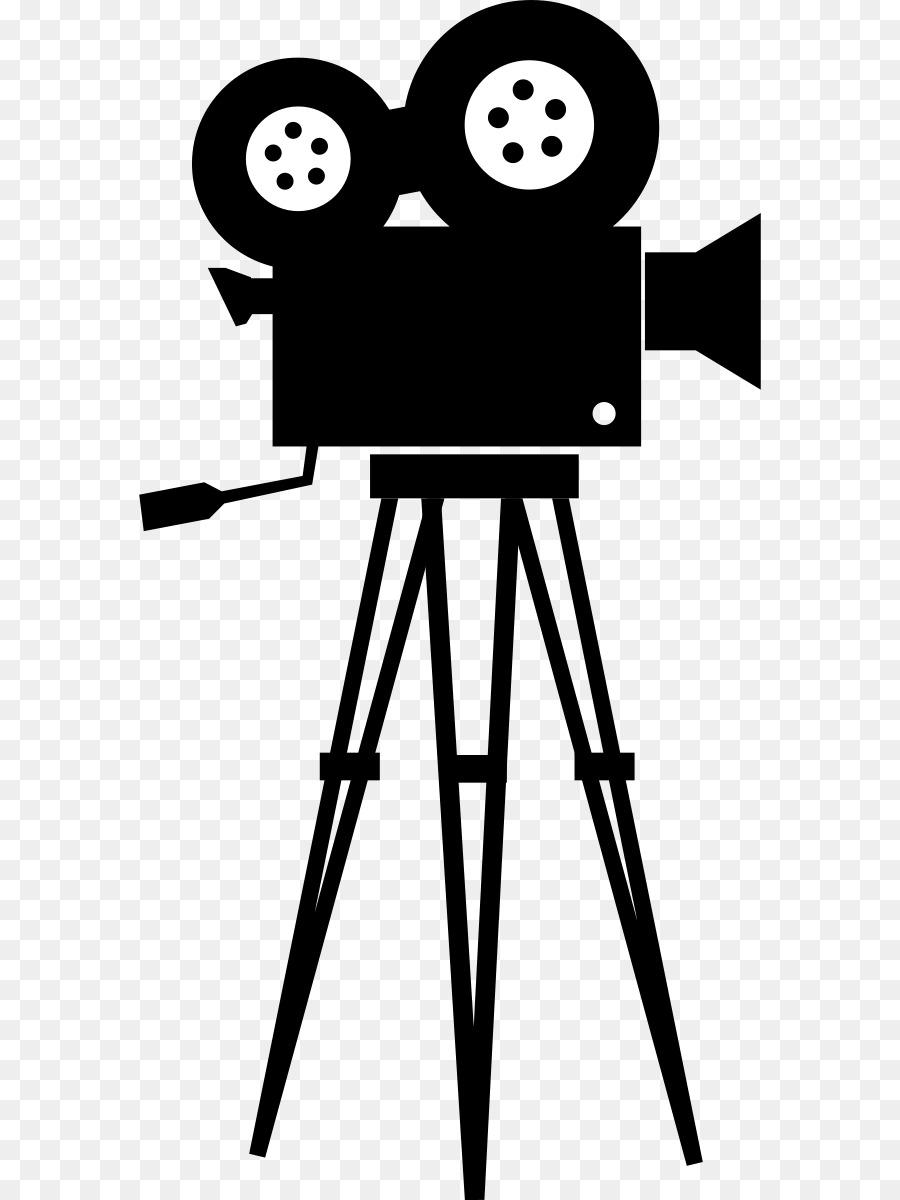 Download Free png Movie camera Film Clip art Movie Camera.