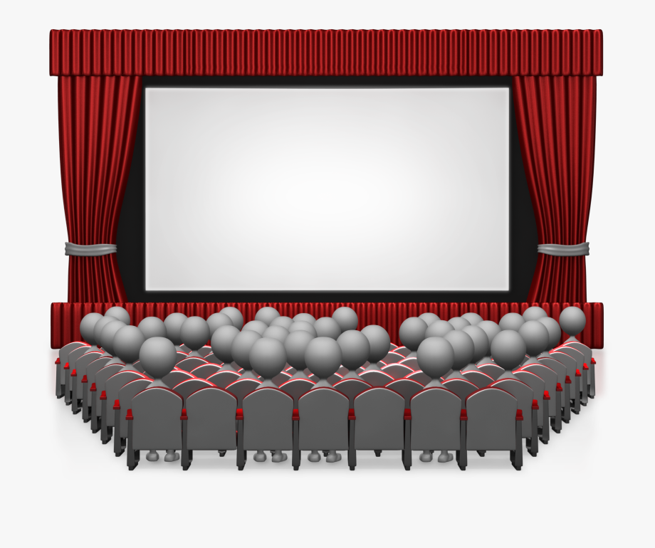 Movie Curtain Png.
