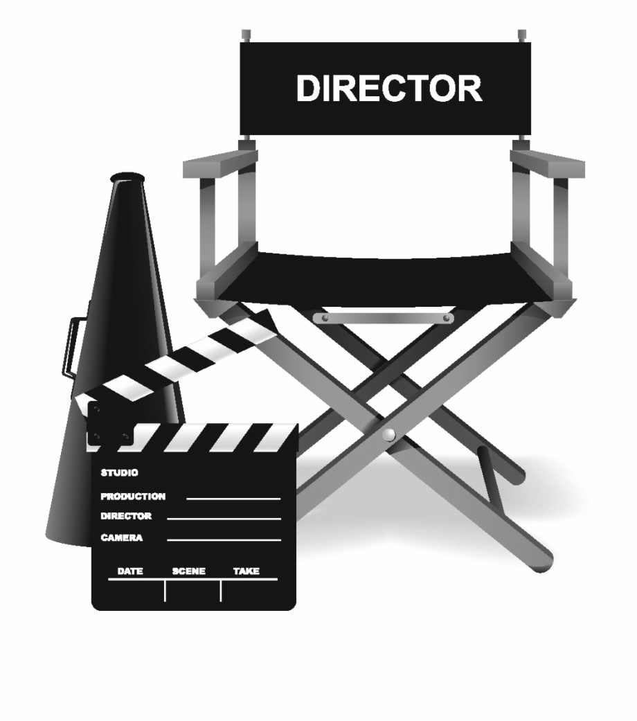 Director's Chair Png Clipart.