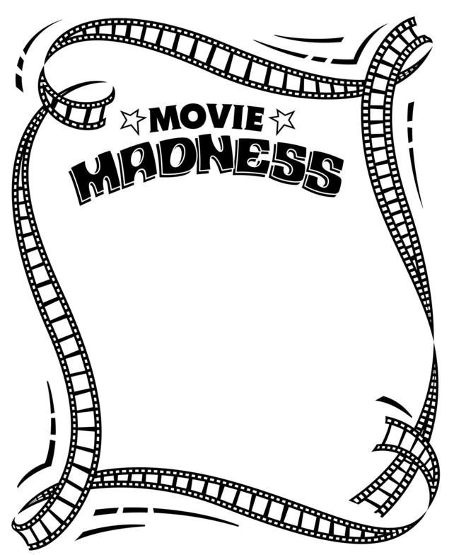Free Movie Reel Border, Download Free Clip Art, Free Clip.