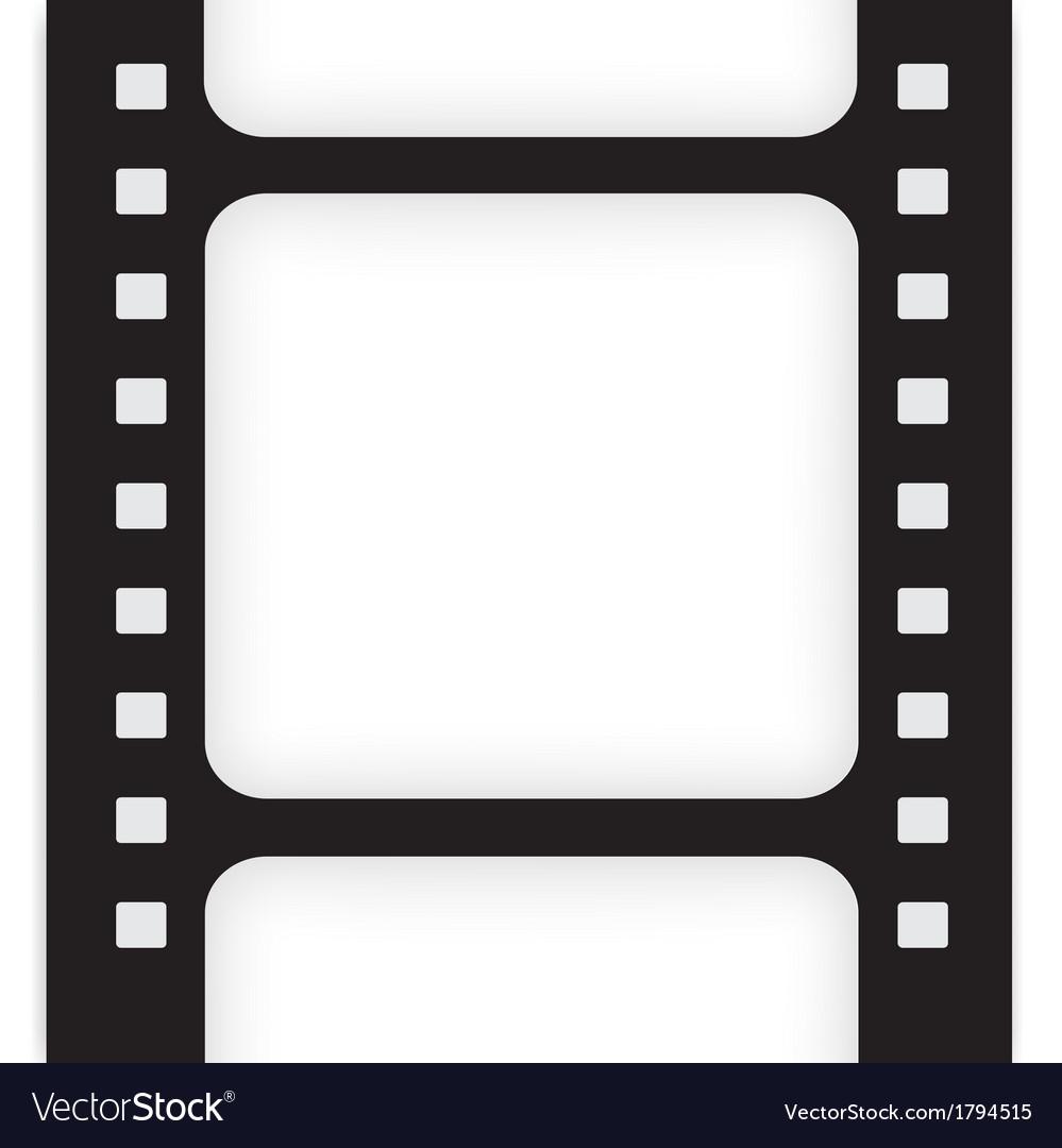 Old filmstrip Movie ending frame.