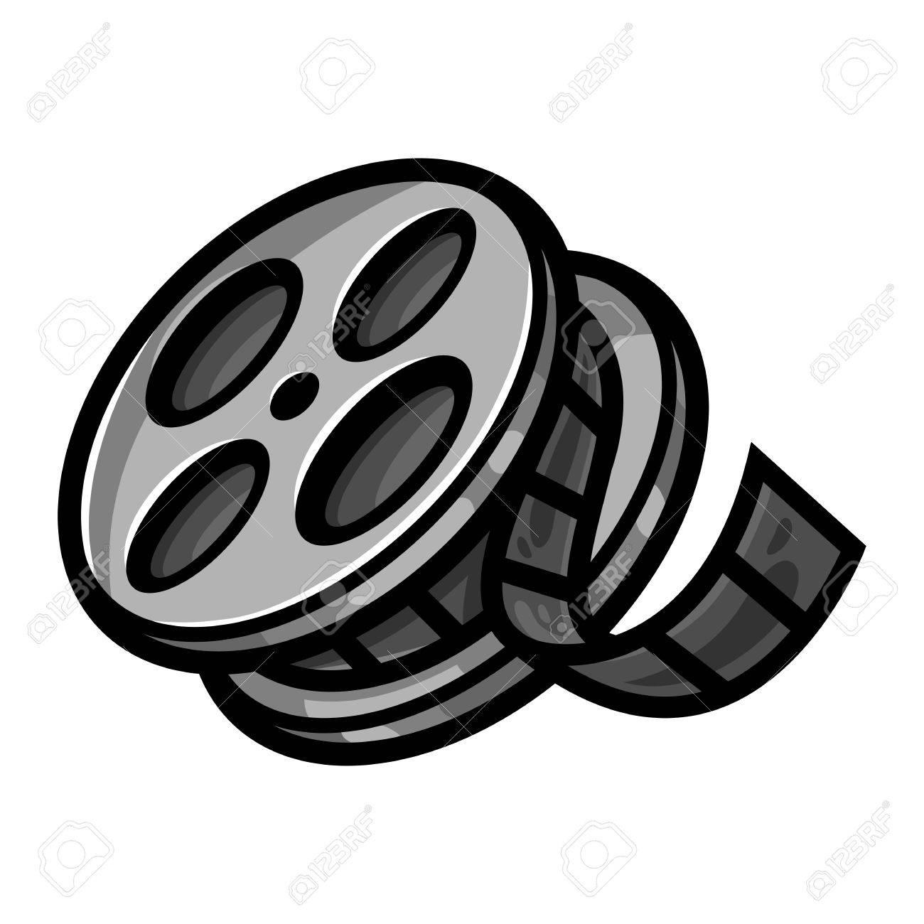 Movie Film Reel.