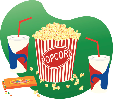 Movie Food Clipart.