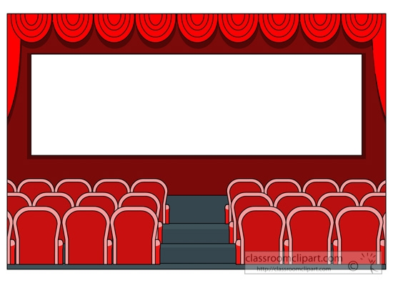 Movie House Cliparts.