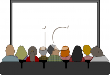 The movie home clipart.