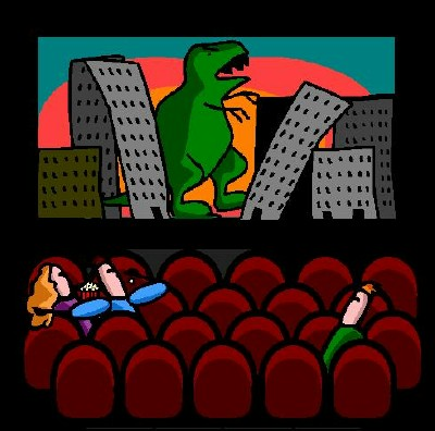 Movie Theater Clipart.