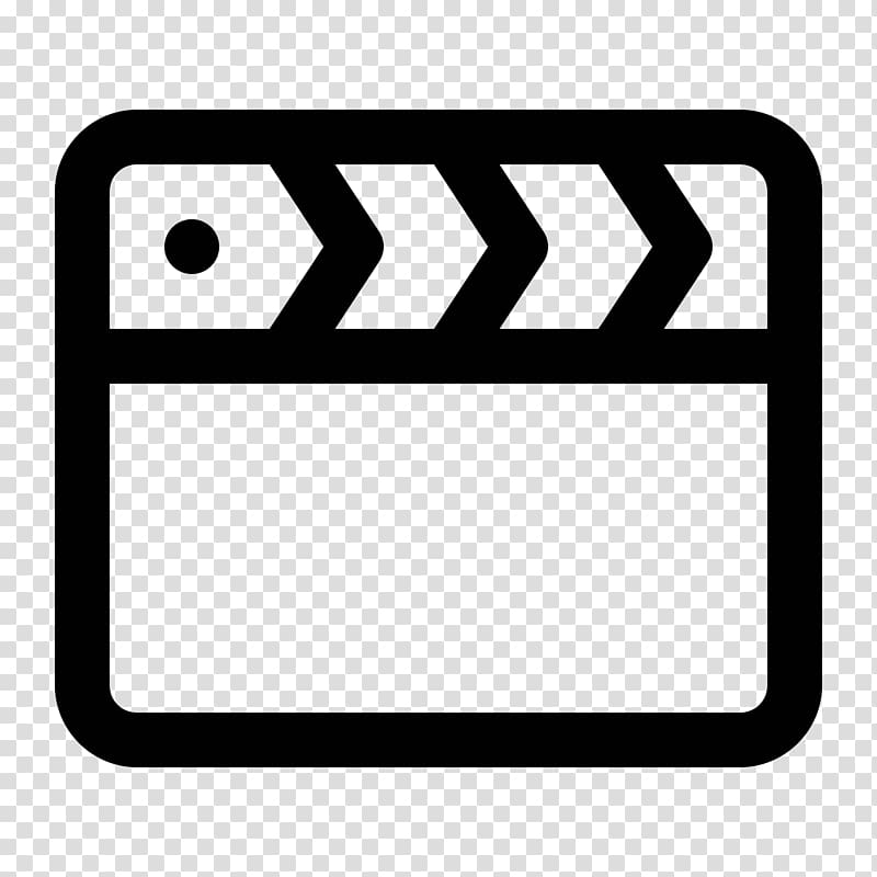 Clapperboard Computer Icons Film, movie icon transparent.