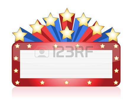 2,676 Theater Marquee Cliparts, Stock Vector And Royalty Free.