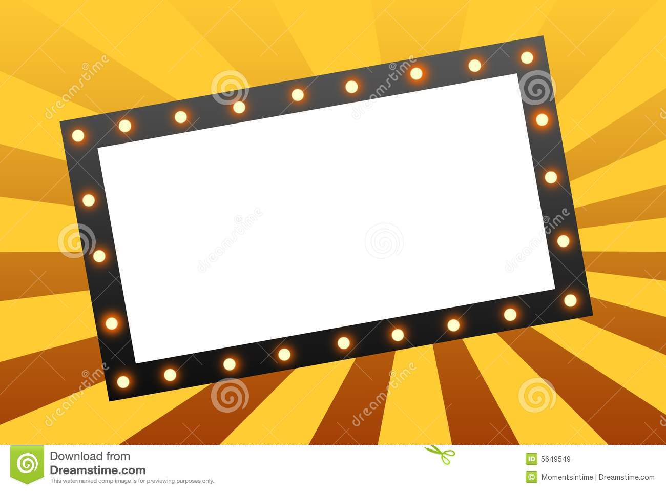 Marquee Stock Illustrations.