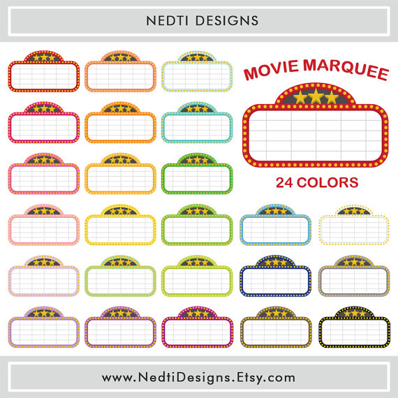 Movie Marquee Clipart & Movie Marquee Clip Art Images.