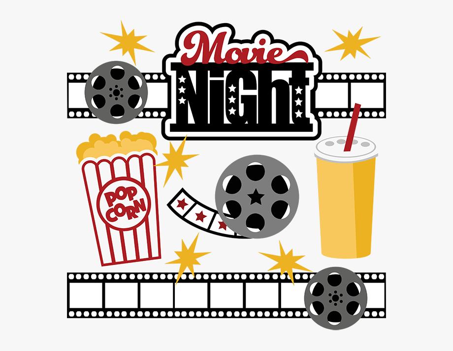 Best Movie Night Clip Art.