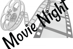 Movie night clipart black and white 1 » Clipart Portal.