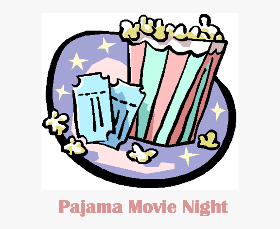 Pajama Movie Night Clipart , Free Transparent Clipart.
