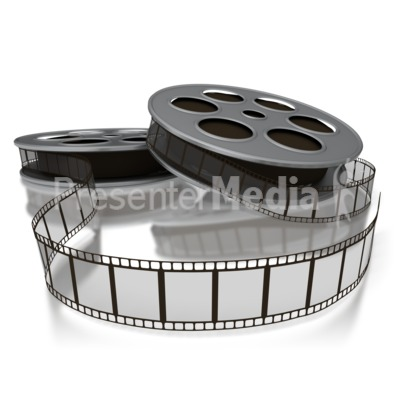 Movie Film Reels.