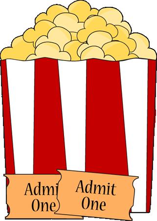Movie Popcorn Clip Art.