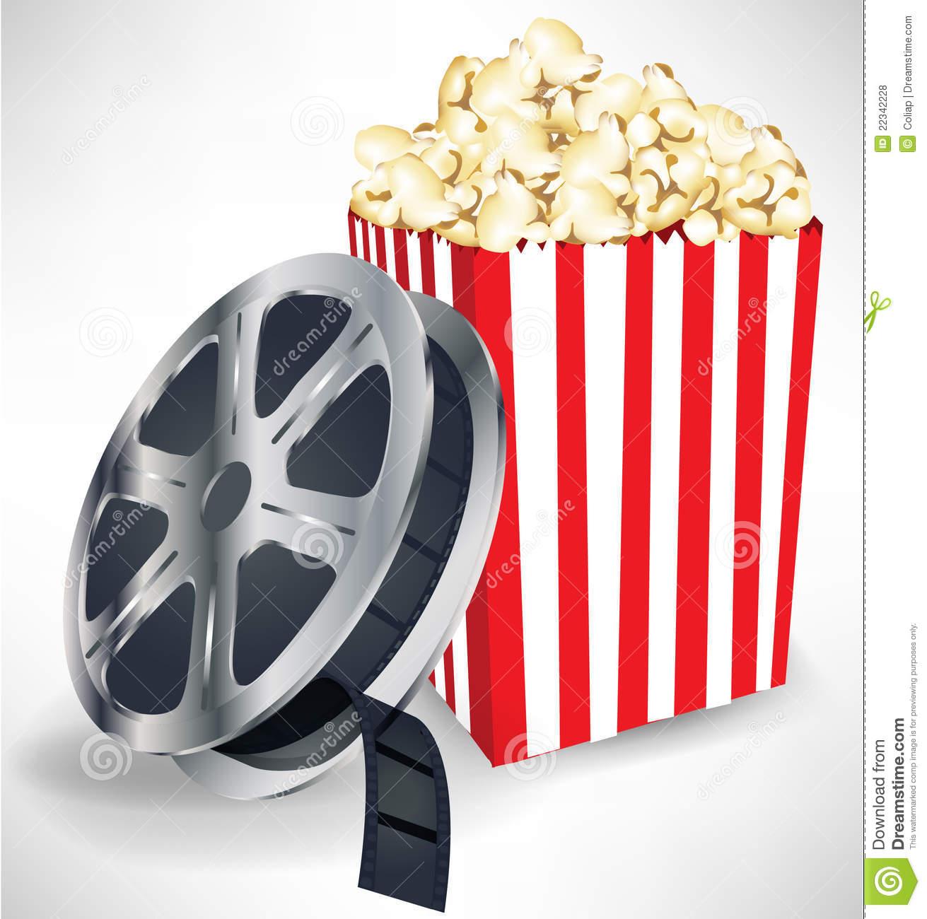 Popcorn cliparts.