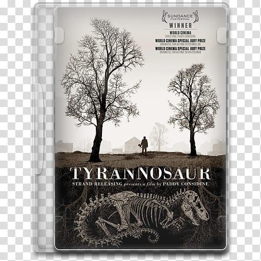 Movie Icon Mega , Tyrannosaur, Tyran Nosaur movie poster.