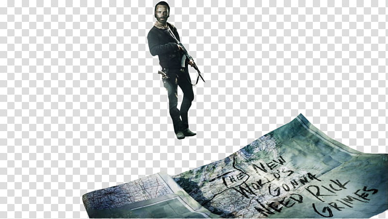 The Walking Dead , The Walking Dead movie poster transparent.