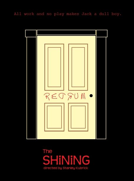 The Shining movie clipart.