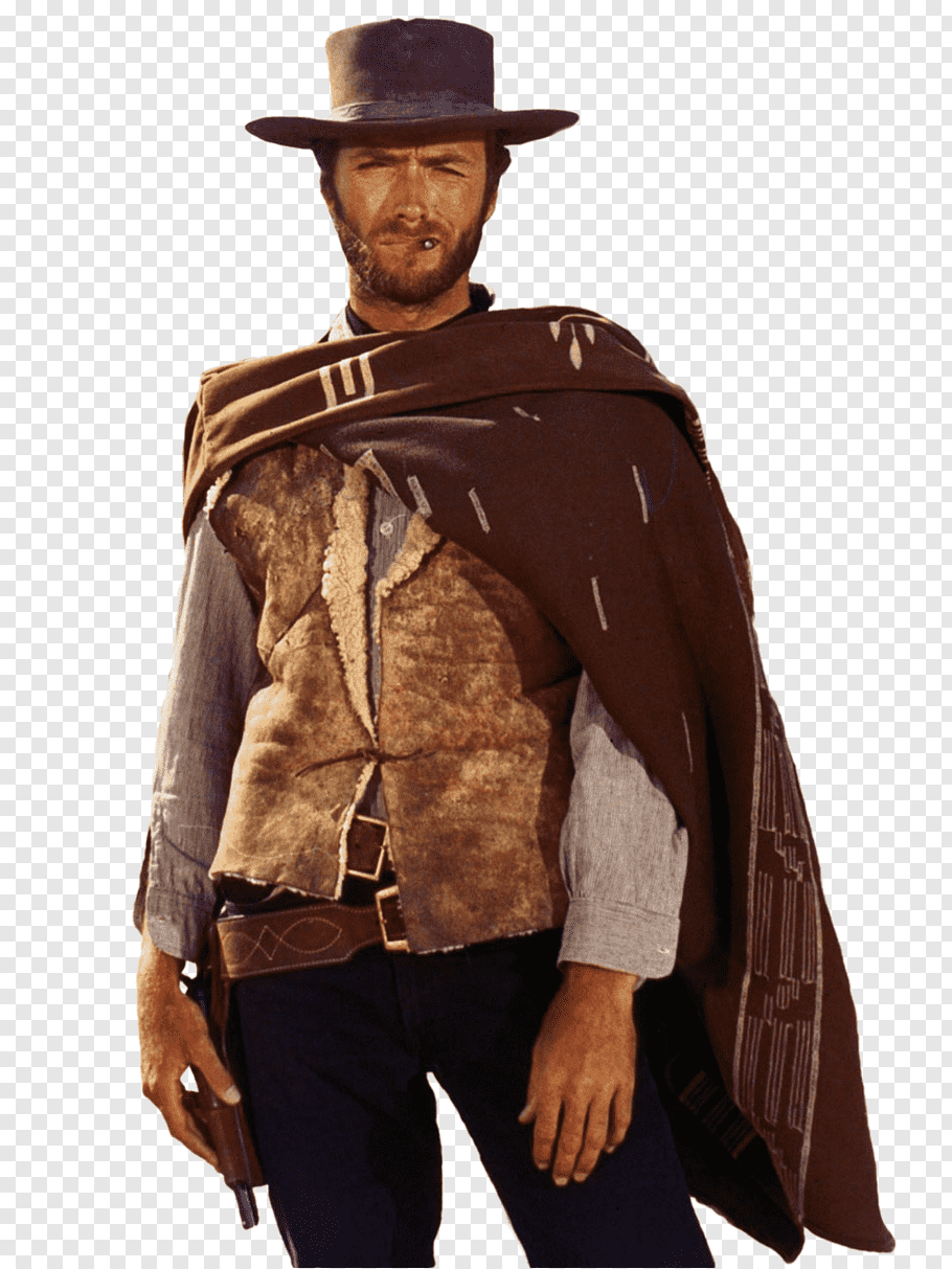 Clint Eastwood, Man with No Name Spaghetti Western Film.