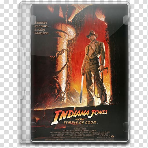 Poster action figure film, Indiana Jones and the Temple of.
