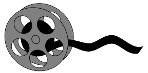 Movie Projector Clipart.