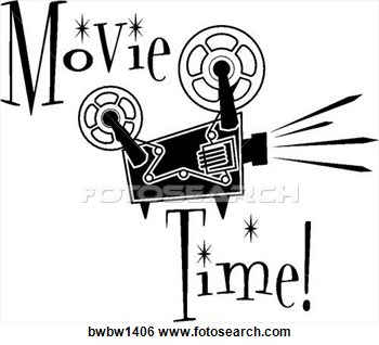 Clipart movie projector.