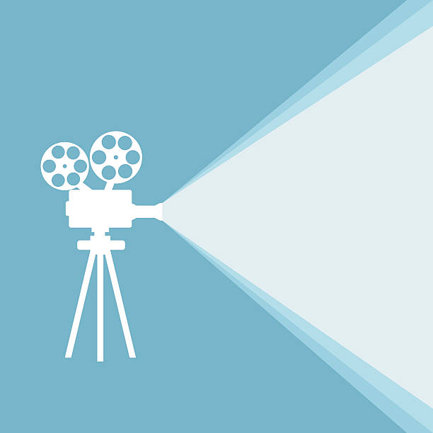 Best Film Projector Illustrations, Royalty.