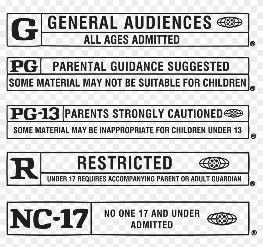 Film Rating Logo By Patti Botsford.