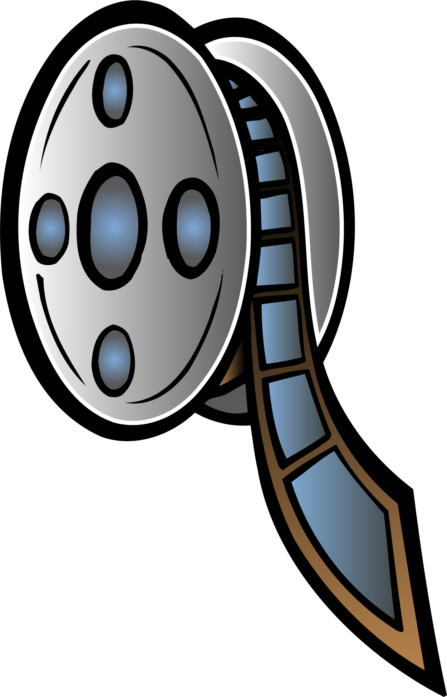 Movie reel clip art clipart.