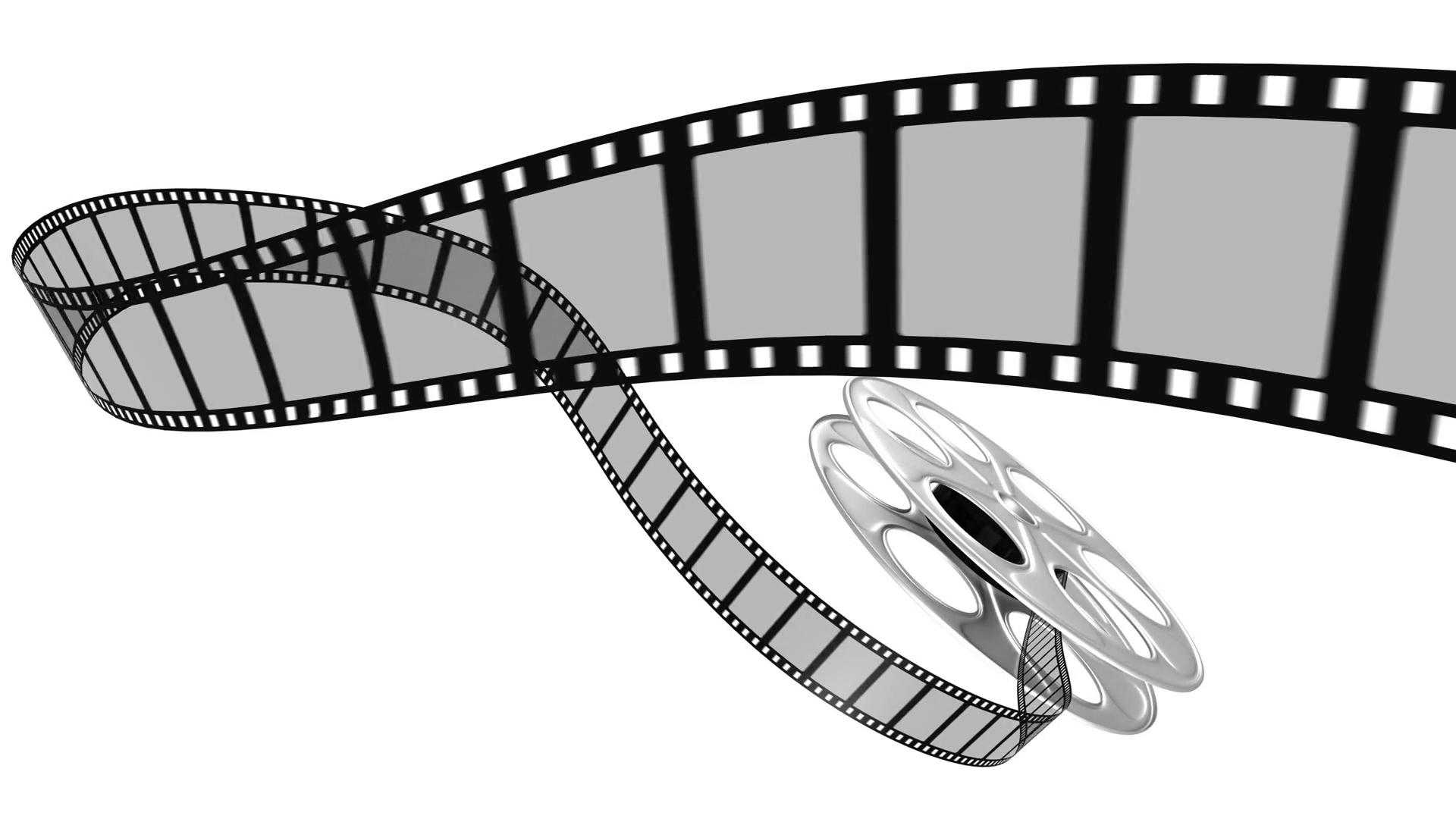 Download Free png Film Reel 4k Loop with Alpha Motion.