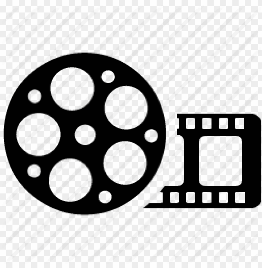 movie roll PNG image with transparent background.