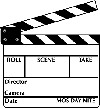 Movie scene clipart.