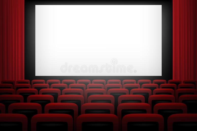 Movie Screen Stock Illustrations.