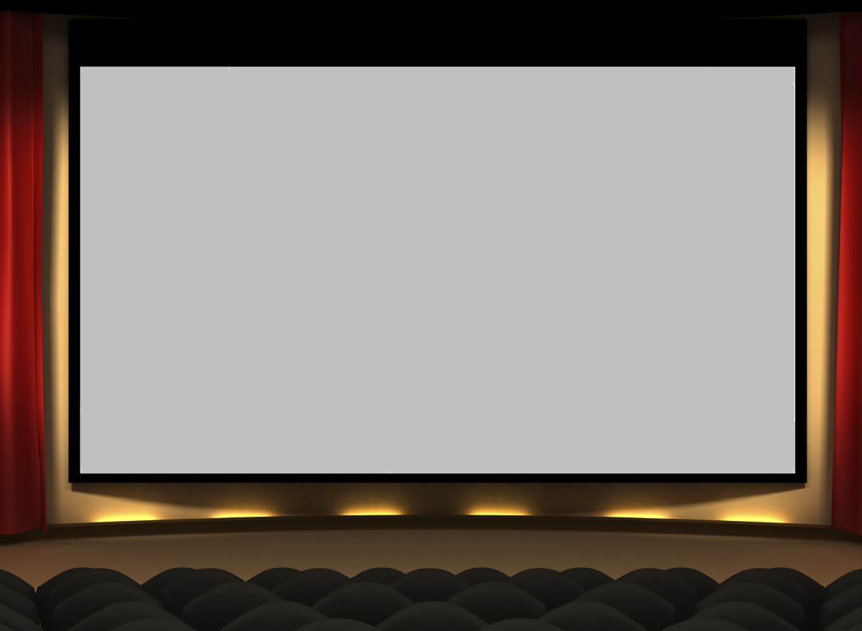 Movie theater PNG Images.