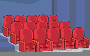 Theatre clipart theatre seat, Theatre theatre seat.