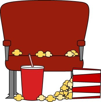 Movie Theater Seats Clipart.
