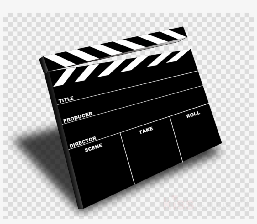 Download Movie Slate Transparent Background Clipart.