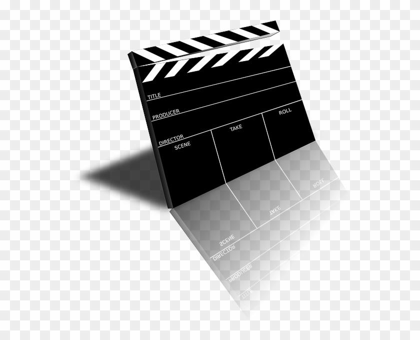 Slate, Scene, Board, Movie, Cinema, Clapper, Film.