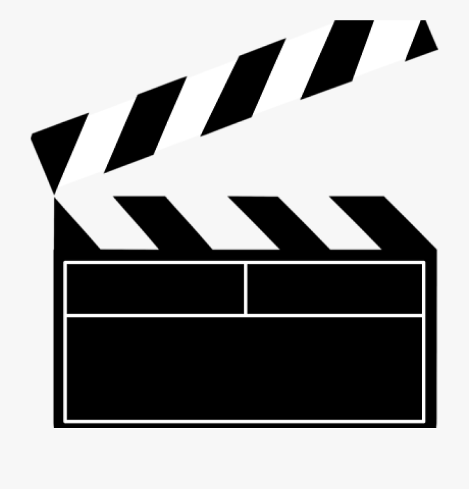 Download Movies Clipart Movie Slate And Use.
