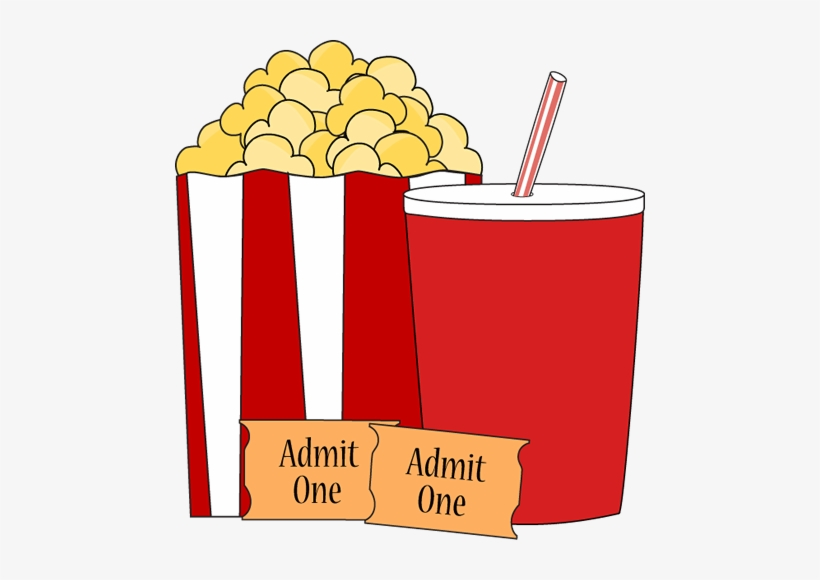 Movie Popcorn And Drink Clip Art.