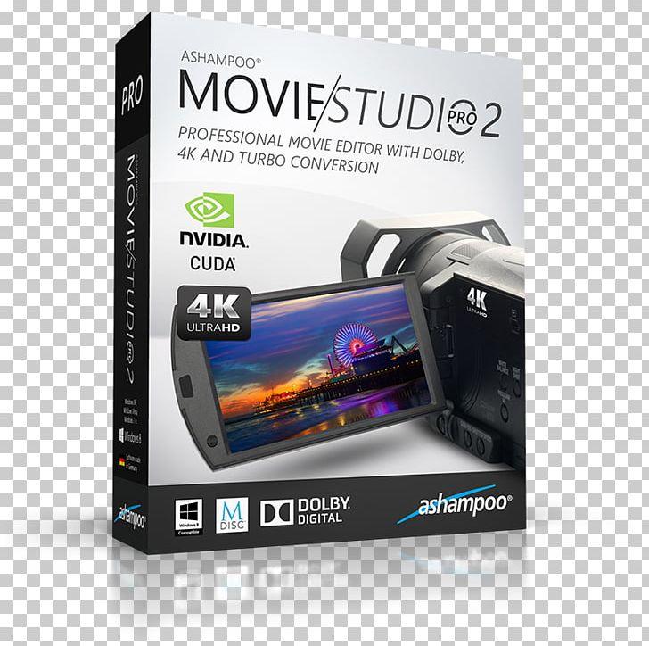 Ashampoo Computer Software Vegas Movie Studio Video Editing.