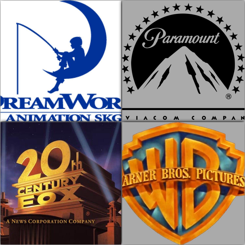 Film companies logos.