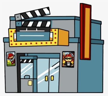 Free Movie Theater Clip Art with No Background.