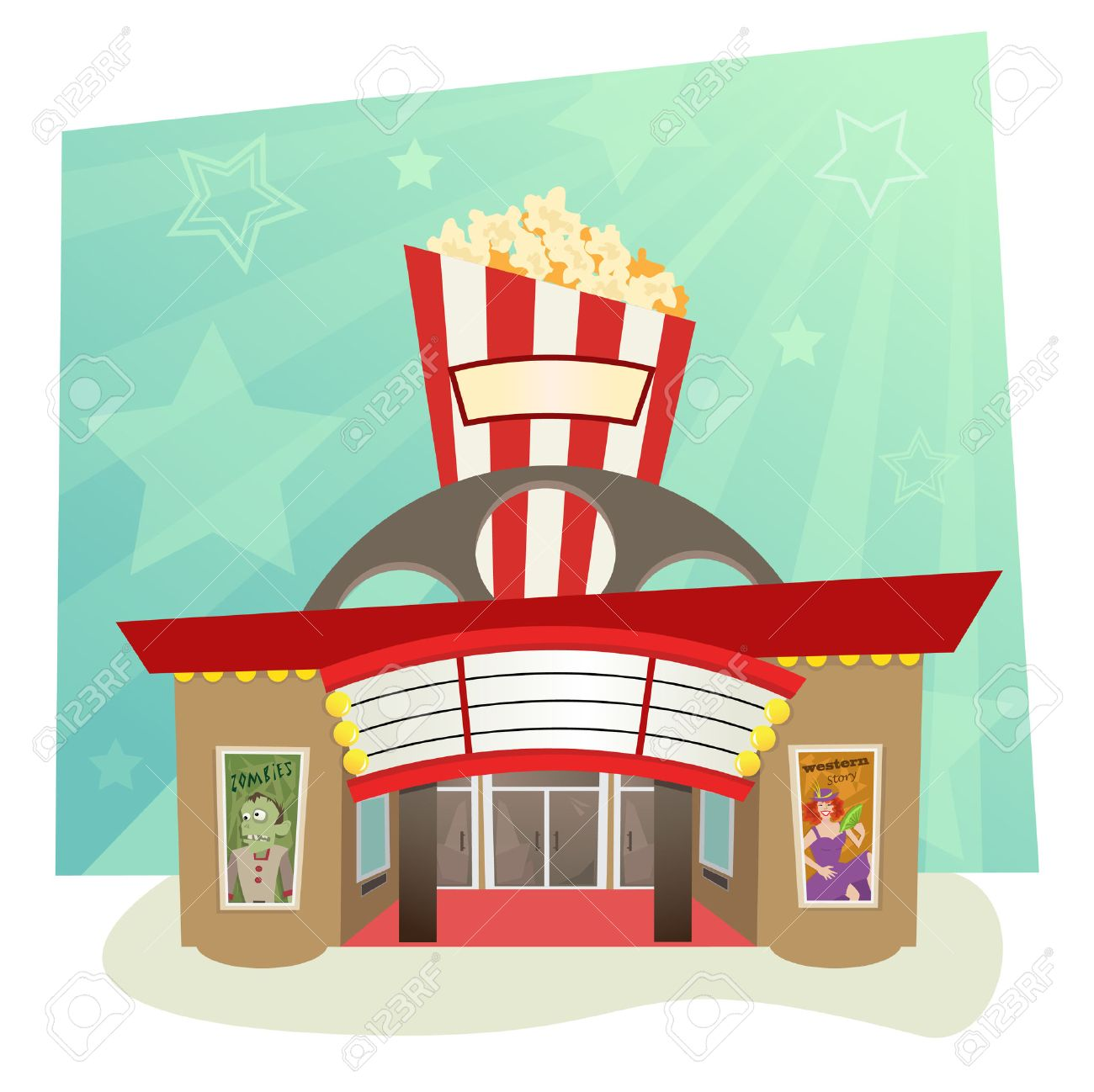 819 Movie Theater free clipart.