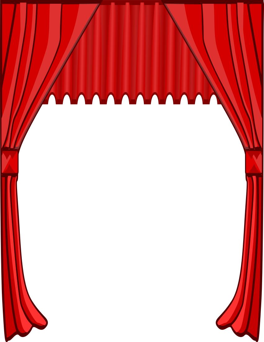 Movie Theater Clipart Border.